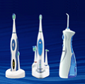 Waterpik sonic toothbrushes and oral irrigators